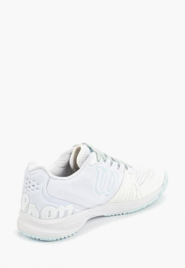 Фото 3 - женские кроссовки Wilson белого цвета