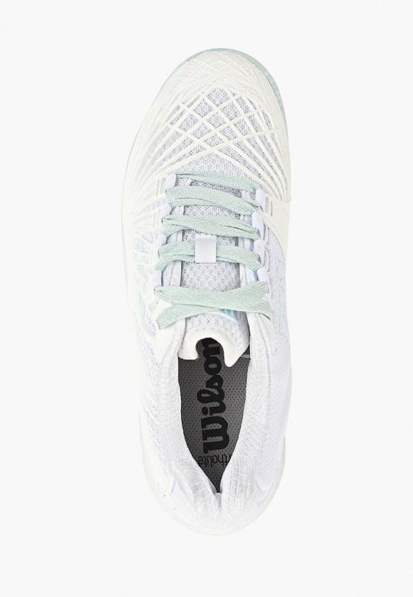Фото 4 - женские кроссовки Wilson белого цвета