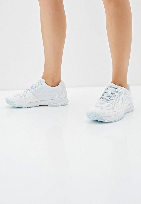 Фото 6 - женские кроссовки Wilson белого цвета