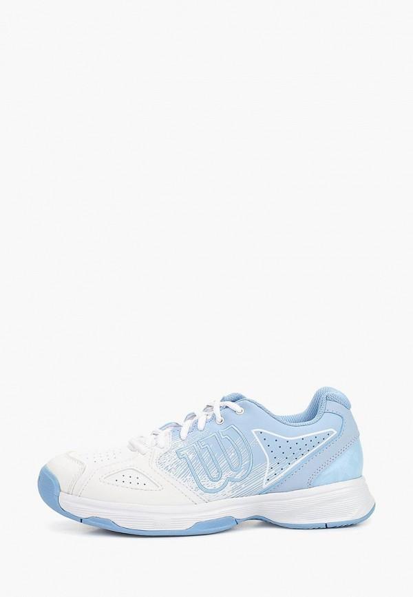 женские кроссовки wilson, голубые
