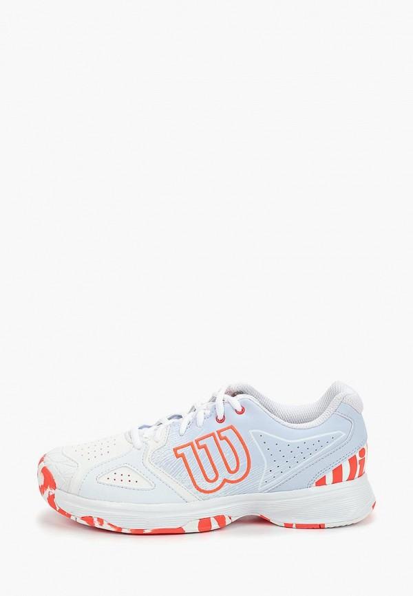 женские кроссовки wilson, белые