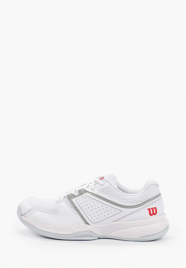 женские низкие кроссовки wilson, белые