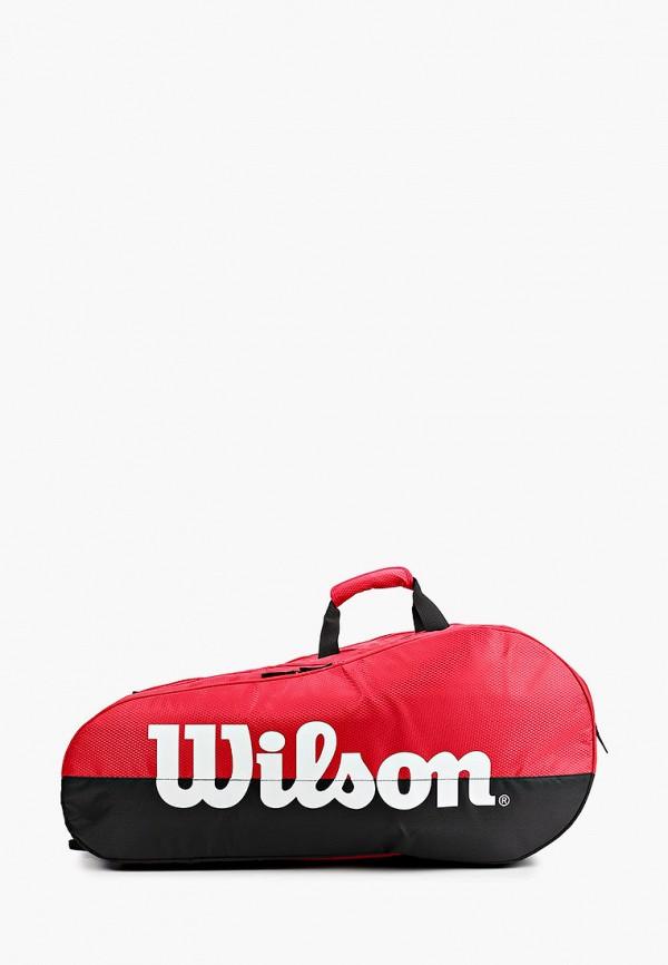 женская сумка wilson, красная