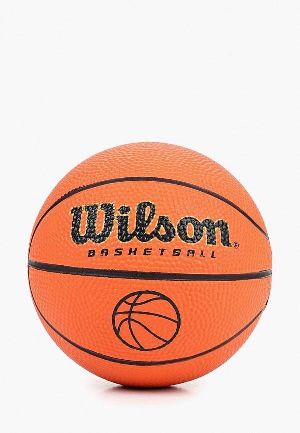 Мяч баскетбольный Wilson Wilson WI002DUDSZE8 мяч баскетбольный wilson mvp размер 7 цвет коричневый