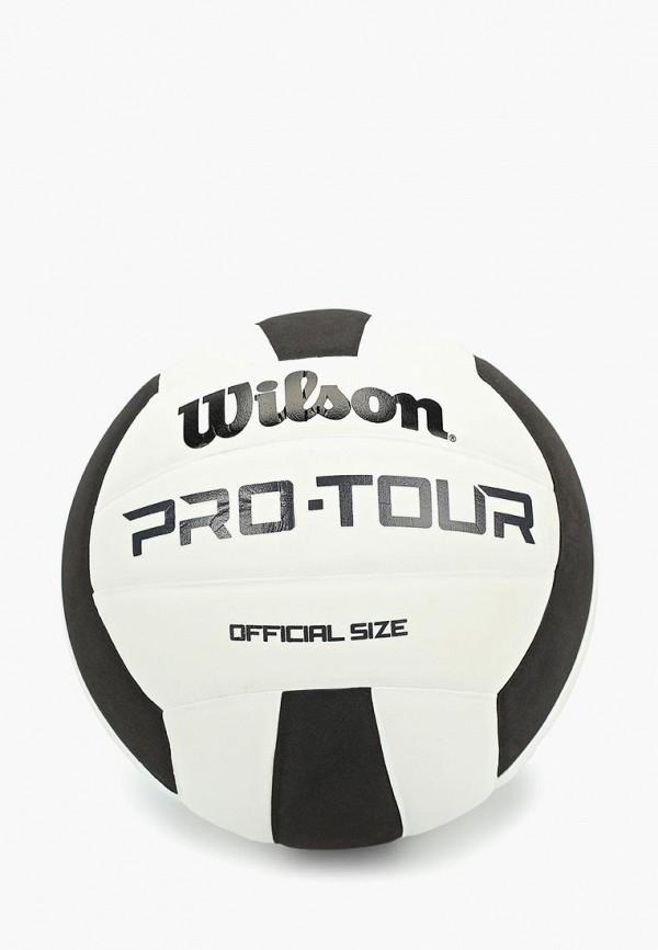 Мяч волейбольный Wilson Wilson WI002DUDSZH3 чешки для мальчика aruna волейбольный мяч цвет белый голубой 61 волейбольный мяч размер 27 29