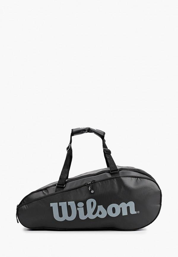 женская спортивные сумка wilson, черная