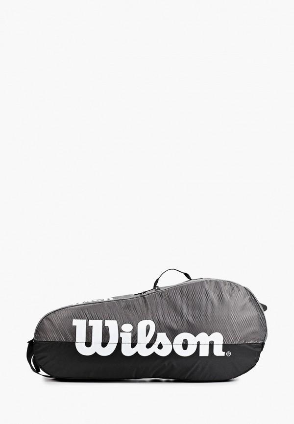 женская спортивные сумка wilson, серая