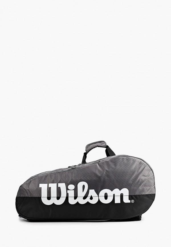 женская сумка wilson, серая
