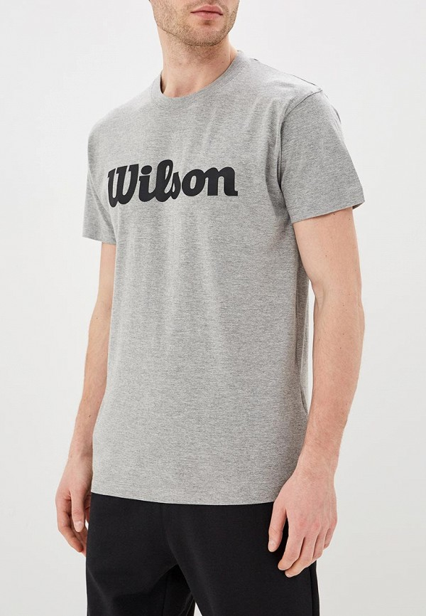 Футболка Wilson Wilson WI002EMDSSR9 футболка спортивная wilson wilson wi002ewdsst4