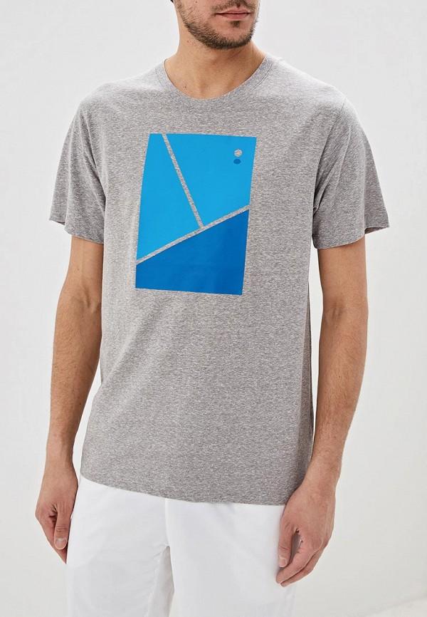 мужская спортивные футболка wilson, серая