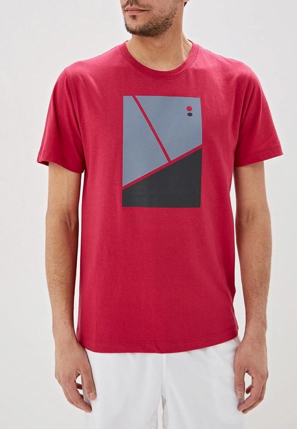 мужская спортивные футболка wilson, розовая