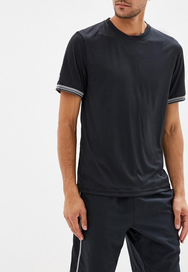 мужская спортивные футболка wilson, черная