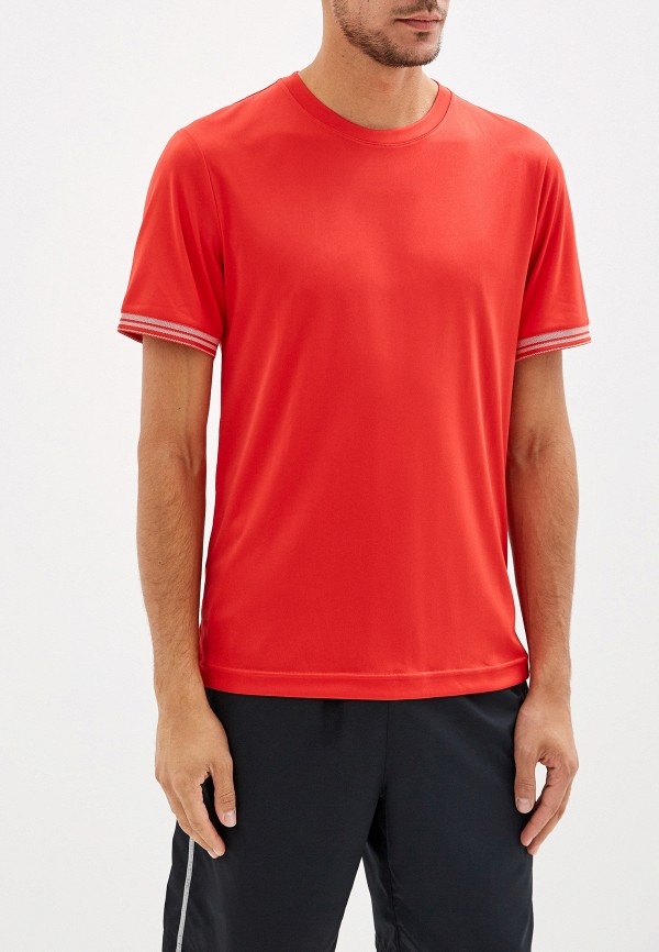 мужская футболка wilson, красная