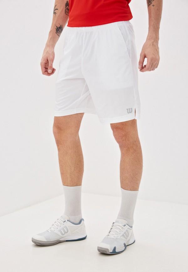 мужские спортивные шорты wilson, белые