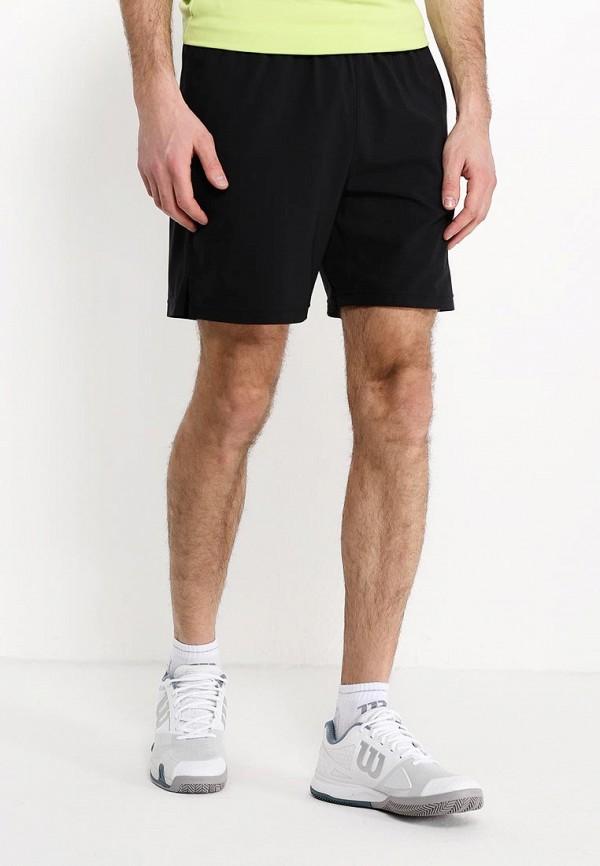 мужские спортивные спортивные шорты wilson, черные