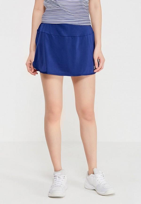 женская спортивные юбка wilson, синяя