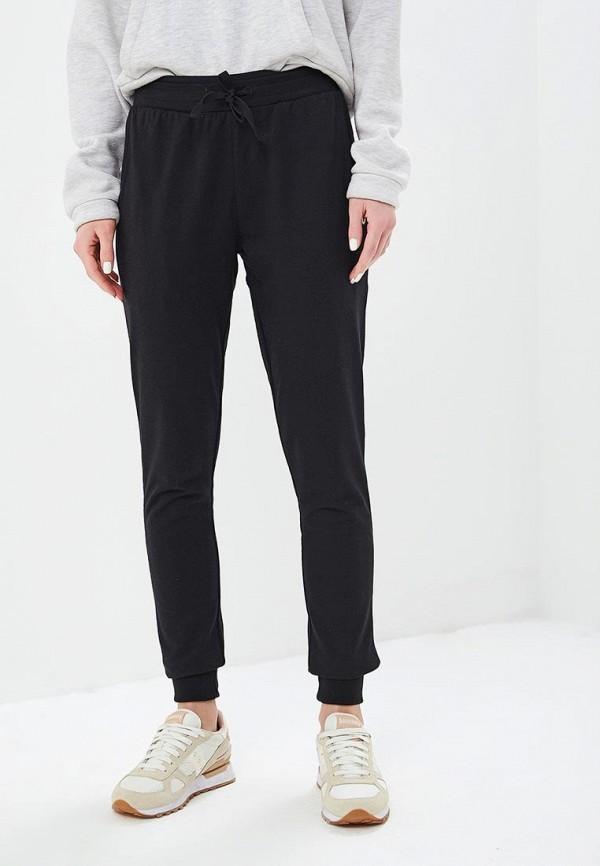 женские спортивные спортивные брюки wilson, черные
