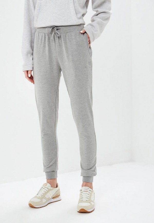 женские спортивные спортивные брюки wilson, серые