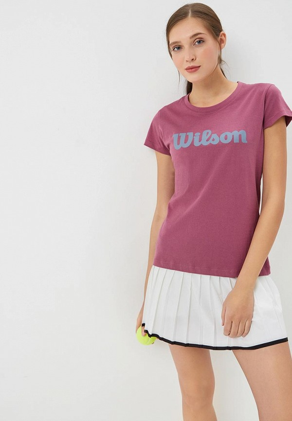 Футболка спортивная Wilson Wilson WI002EWDSST6 футболка спортивная wilson wilson wi002ewdsst4