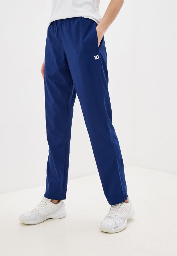 женские спортивные брюки wilson, синие