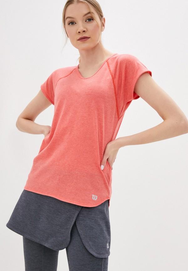 женская спортивные футболка wilson