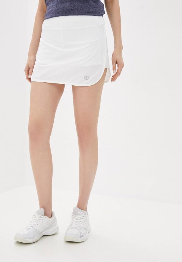 женская спортивные юбка wilson, белая