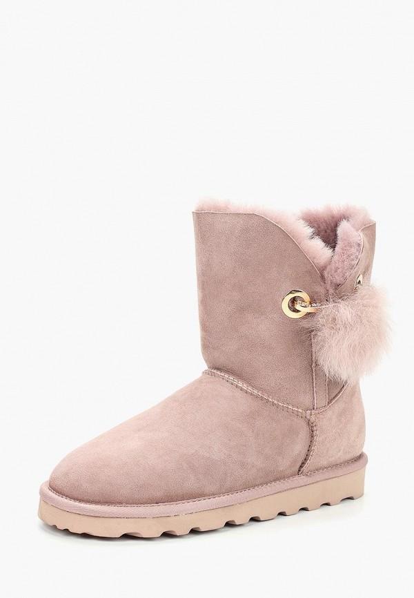 Купить Полусапоги Winzor, wi011awbuwe1, розовый, Осень-зима 2018/2019