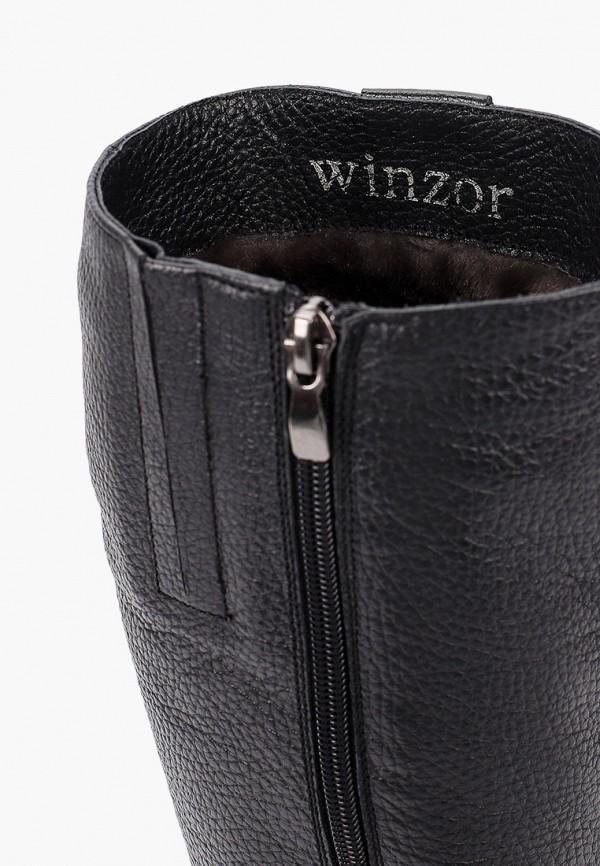 Фото 6 - Сапоги Winzor черного цвета