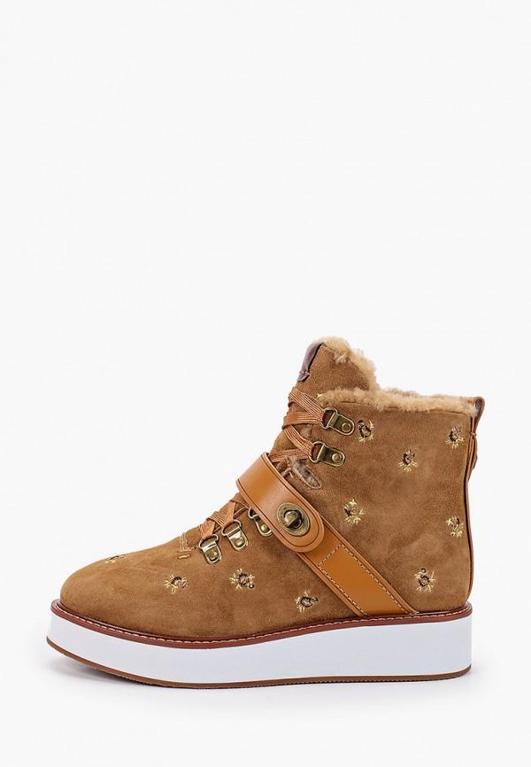 женские ботинки winzor, коричневые