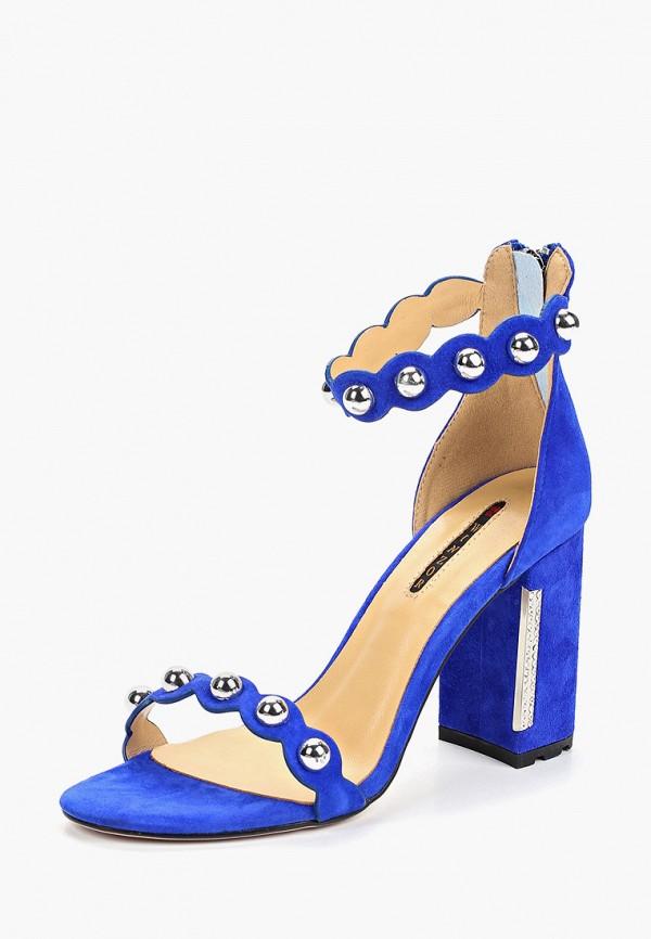 Фото 2 - Босоножки Winzor синего цвета
