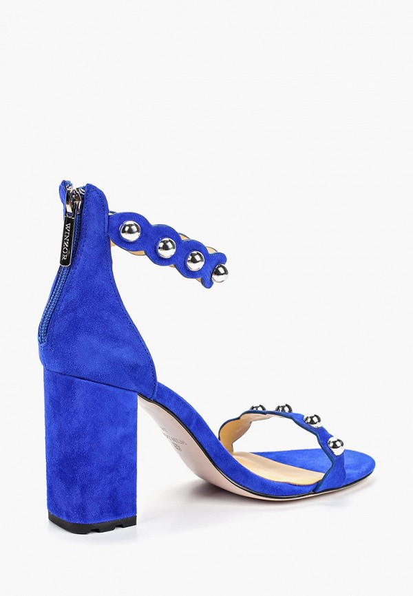 Фото 3 - Босоножки Winzor синего цвета