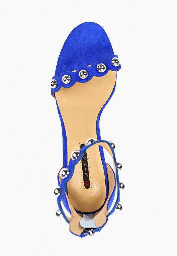 Фото 4 - Босоножки Winzor синего цвета