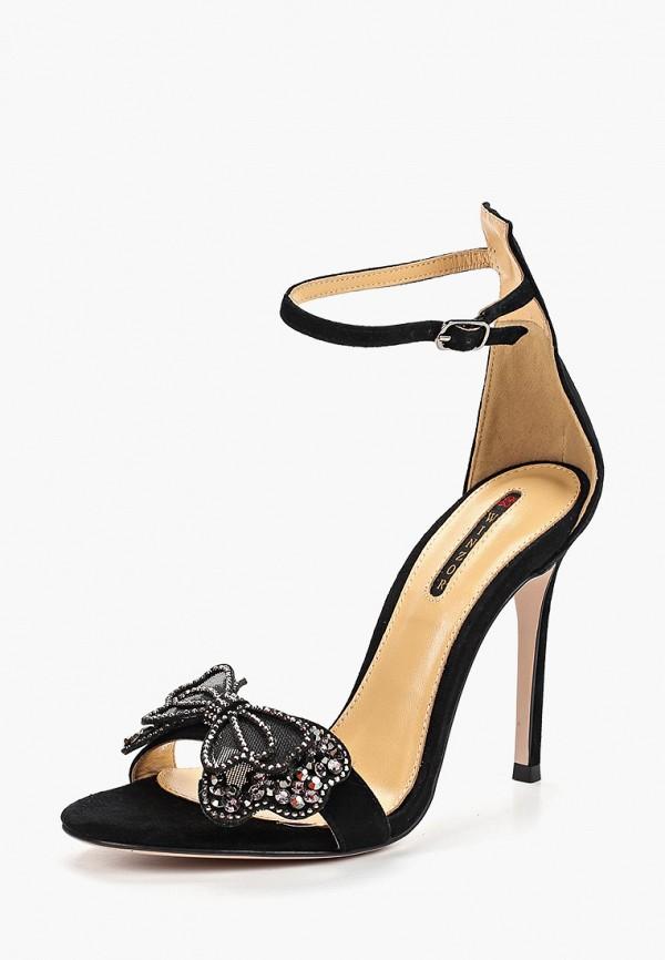 Фото 2 - Босоножки Winzor черного цвета