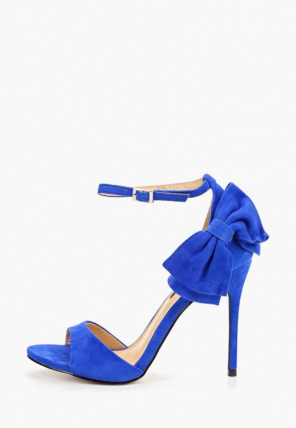 женские босоножки winzor, синие