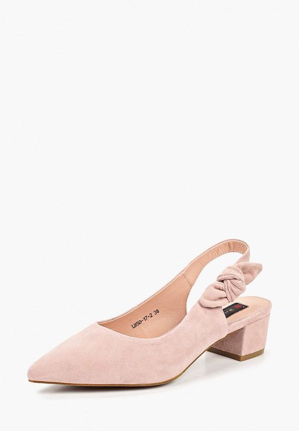 Фото 2 - Туфли Winzor розового цвета