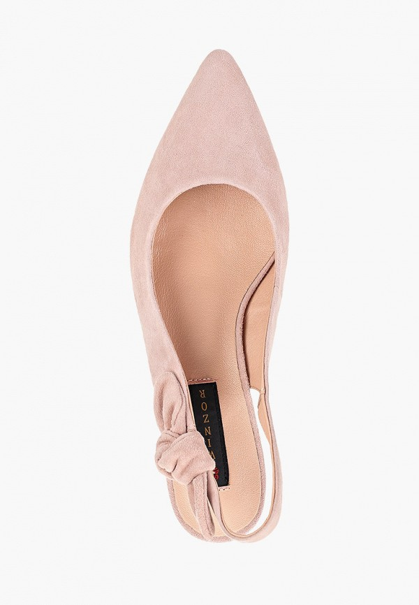 Фото 4 - Туфли Winzor розового цвета