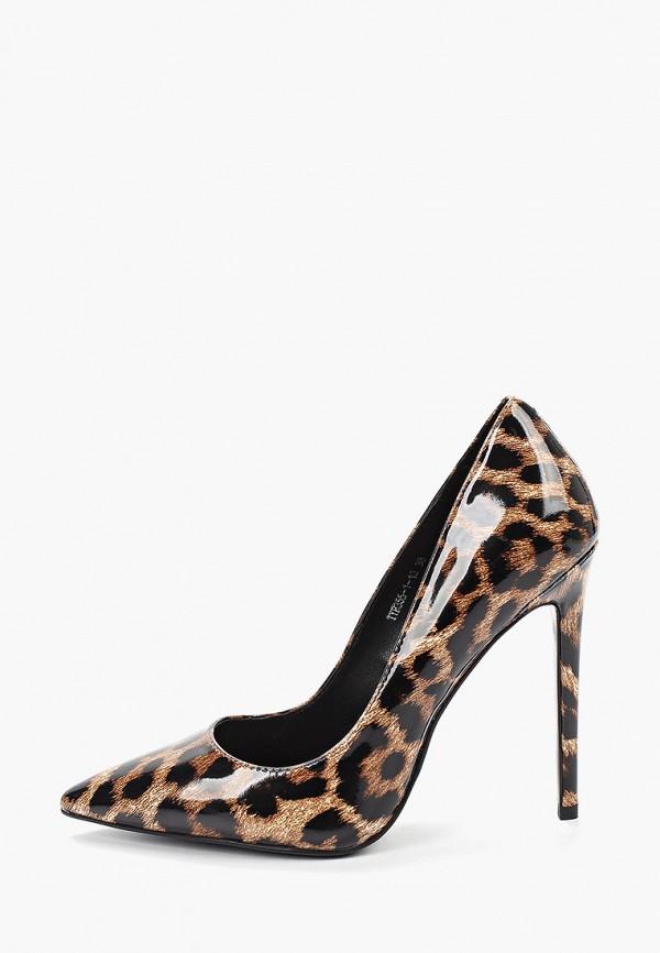 женские туфли winzor, коричневые