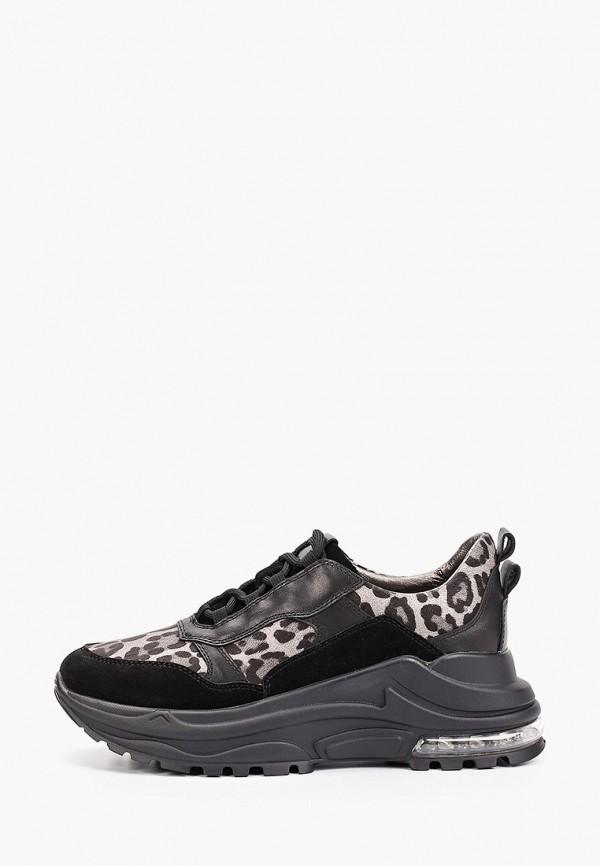 женские кроссовки winzor, черные