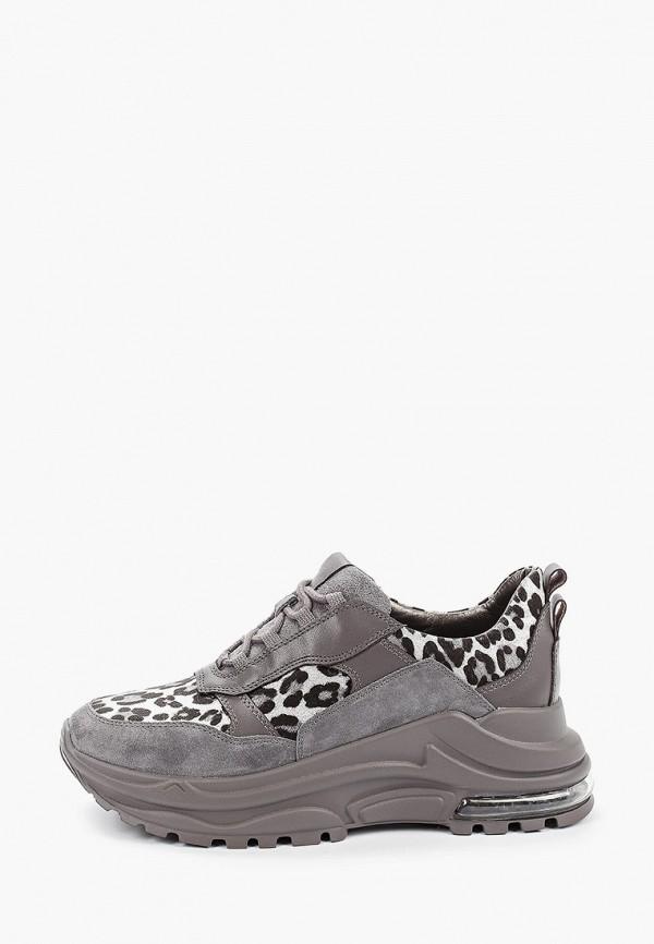 женские кроссовки winzor, серые