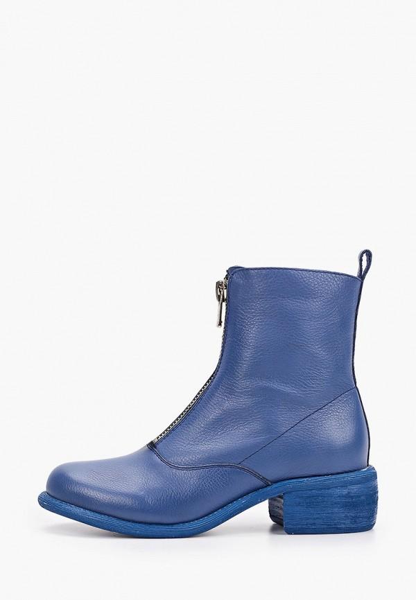 женские ботинки winzor, синие