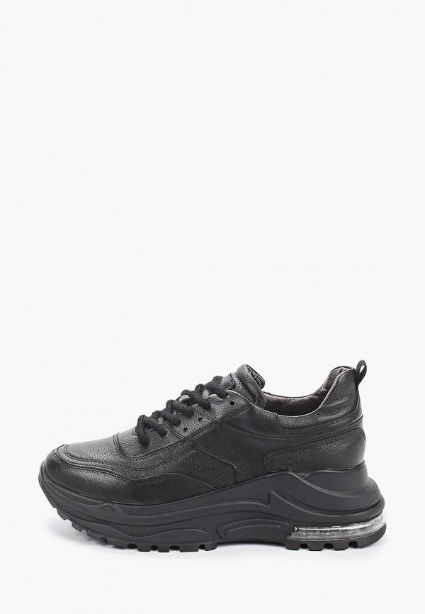 женские низкие кроссовки winzor, черные