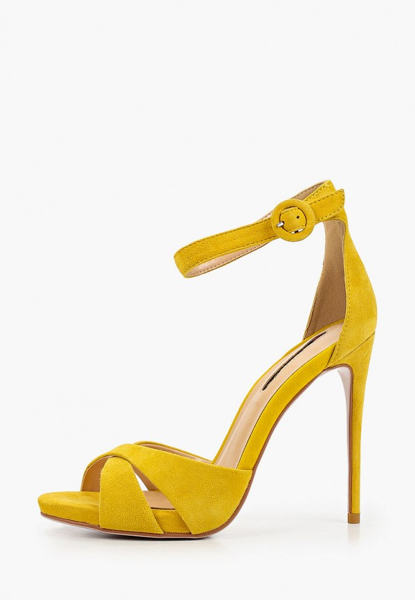 женские босоножки winzor, желтые