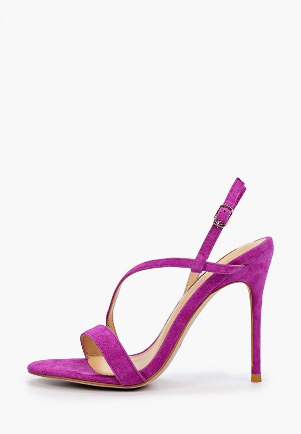 женские босоножки winzor, фиолетовые