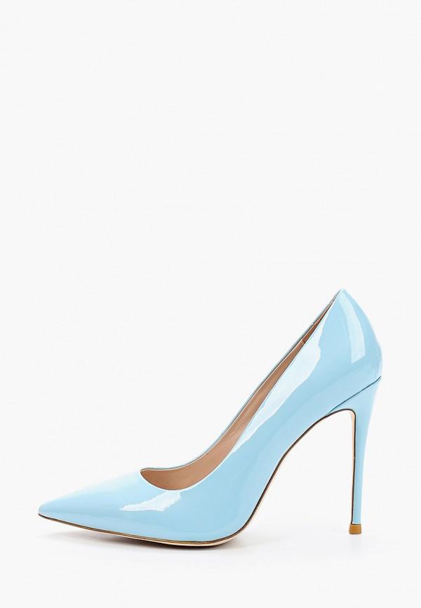 женские туфли winzor, голубые