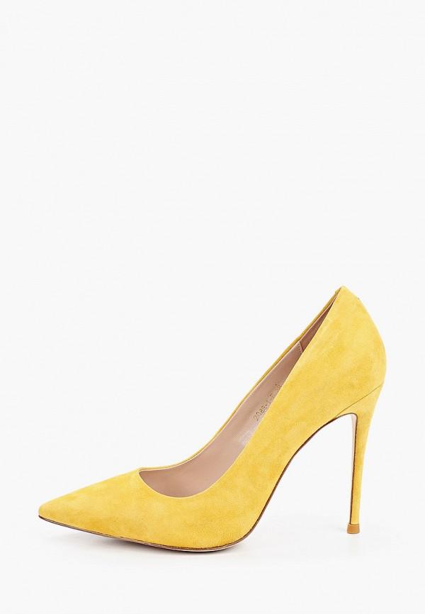 женские туфли winzor, желтые