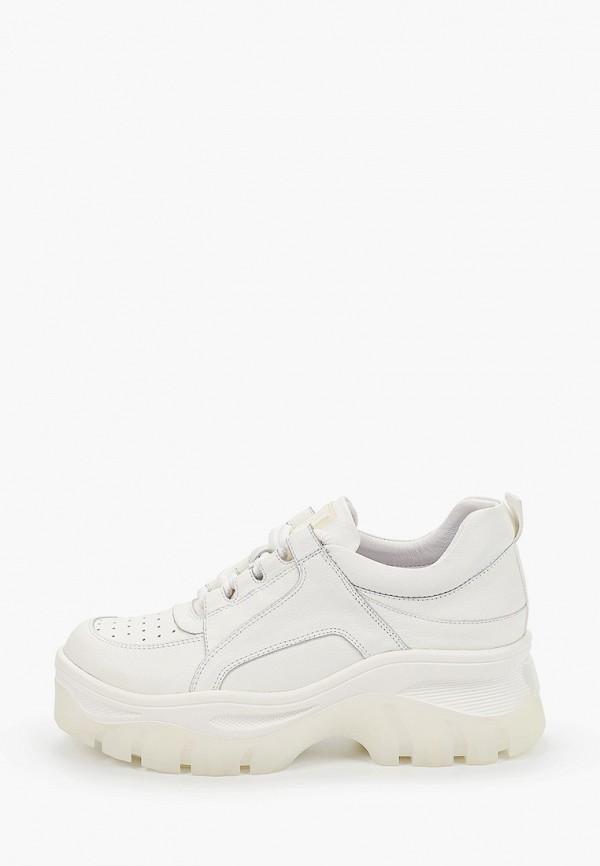 женские кроссовки winzor, белые
