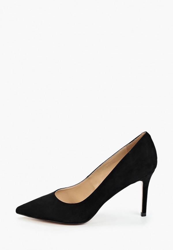 женские туфли-лодочки winzor, черные