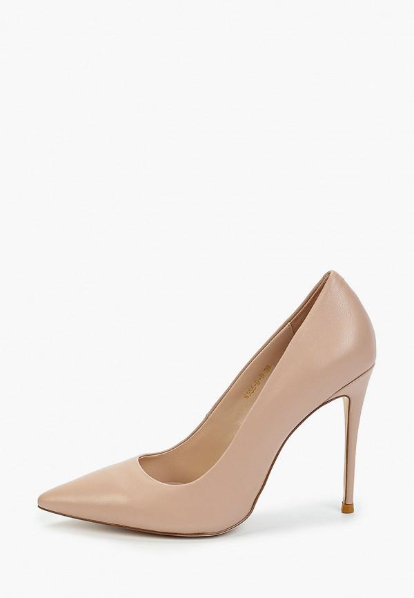 женские туфли-лодочки winzor, бежевые