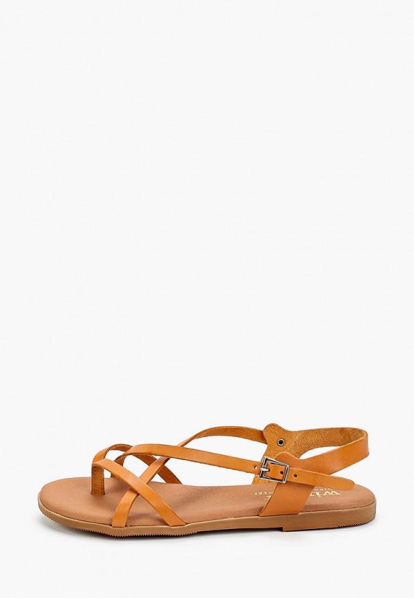 женские сандалии winzor, коричневые