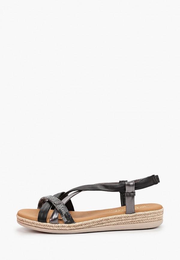 женские сандалии winzor, черные